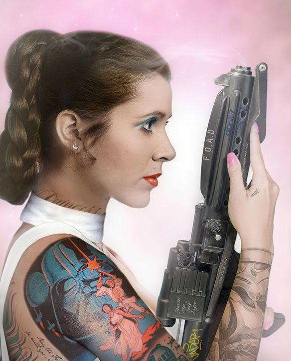 Your Worshipfulness - Princess Leia by JJ Adams