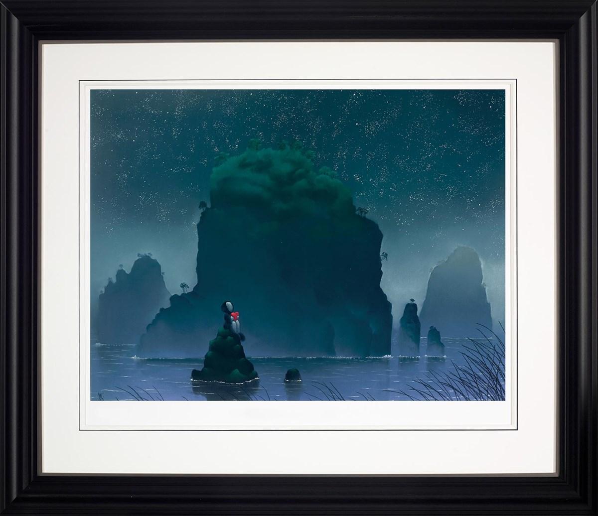 Youre My Rock - Framed by Mackenzie Thorpe