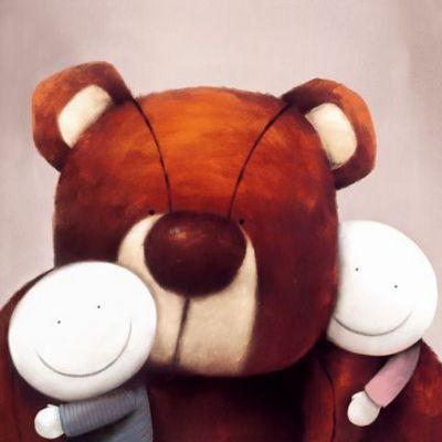 Group Hug - Framed by Doug Hyde