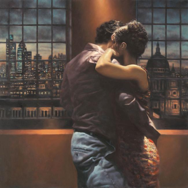 Twilight Over London by Hamish Blakely