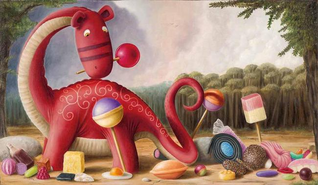 Tuppenny Pennysaurus - Remarqued Edition by Peter Smith