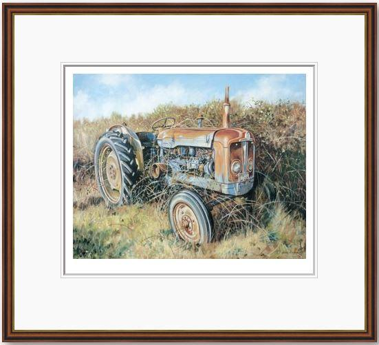 Edeys Farm Fordon - Framed