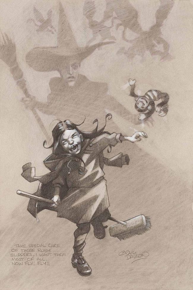 Take Special Care Of Those Ruby Slippers, I Want Them Most Of All. Now Fly Fly by Craig Davison