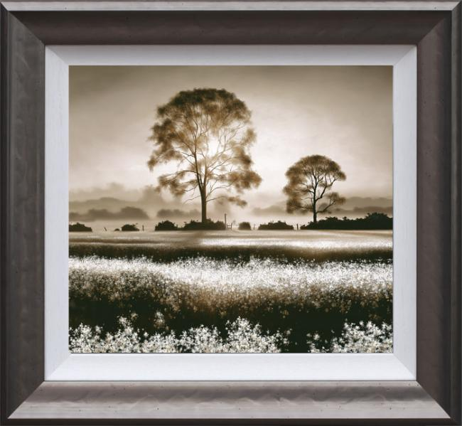 Daybreak Stroll - Framed by John Waterhouse
