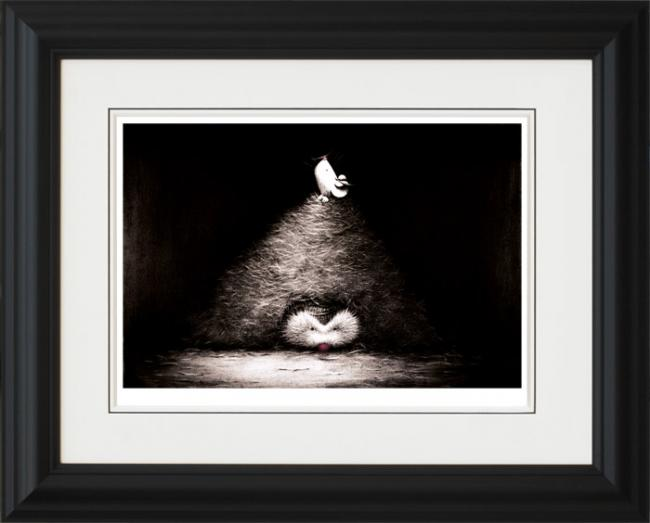 First One to the Top - Framed by Doug Hyde