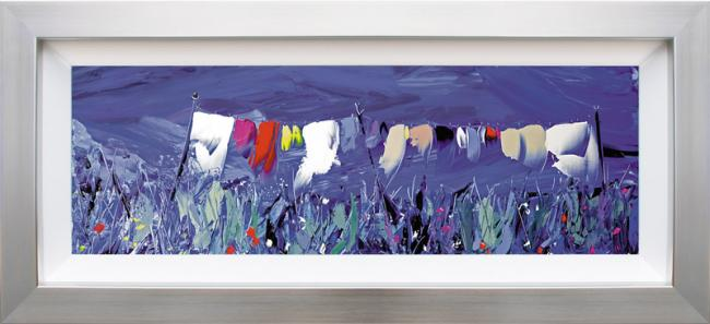 In The Breeze - Framed by Duncan MacGregor