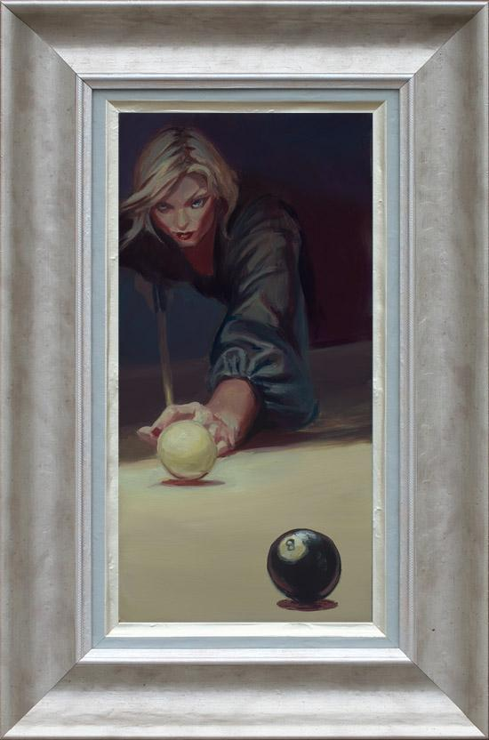 Corner Pocket - Framed by Gabe Leonard
