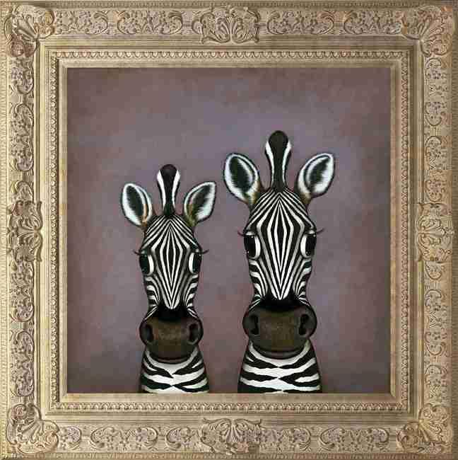 Ebony & Ivory by Caroline Shotton
