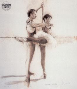 Yoshida & O'Hare I (Miyako Yoshida & Kevin O'Hare) by Charles Willmott