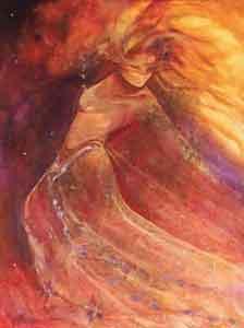 Eternal Love - Canvas by Charlotte Atkinson