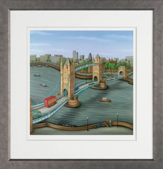 London Calling - Framed by Paul Horton
