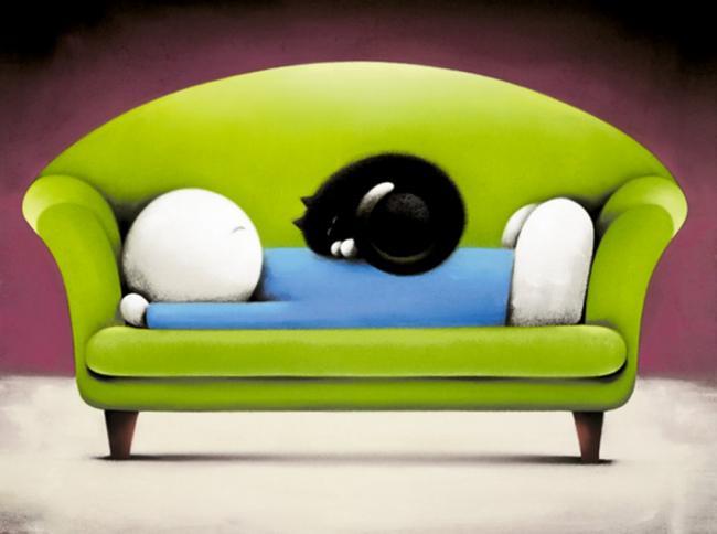 Catnap II by Doug Hyde