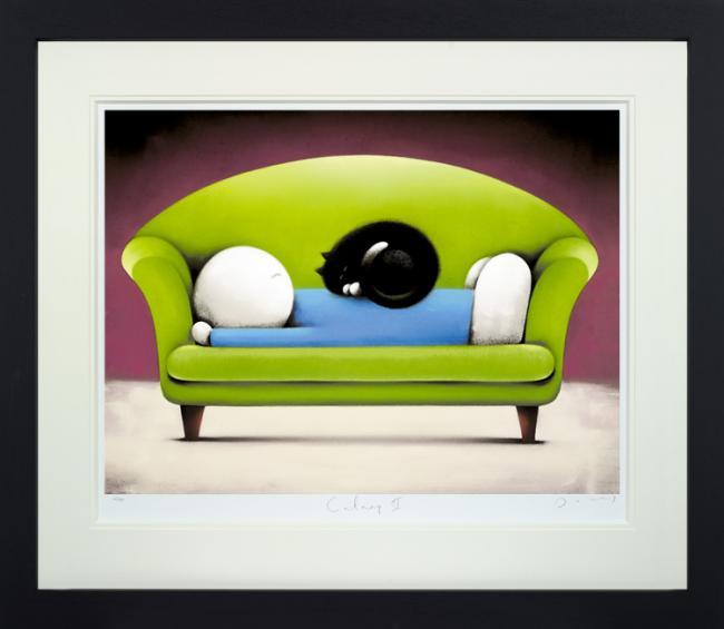 Catnap II - Framed by Doug Hyde