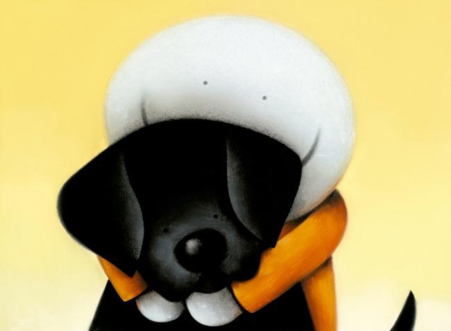Beware Of The Dog II - Mounted by Doug Hyde