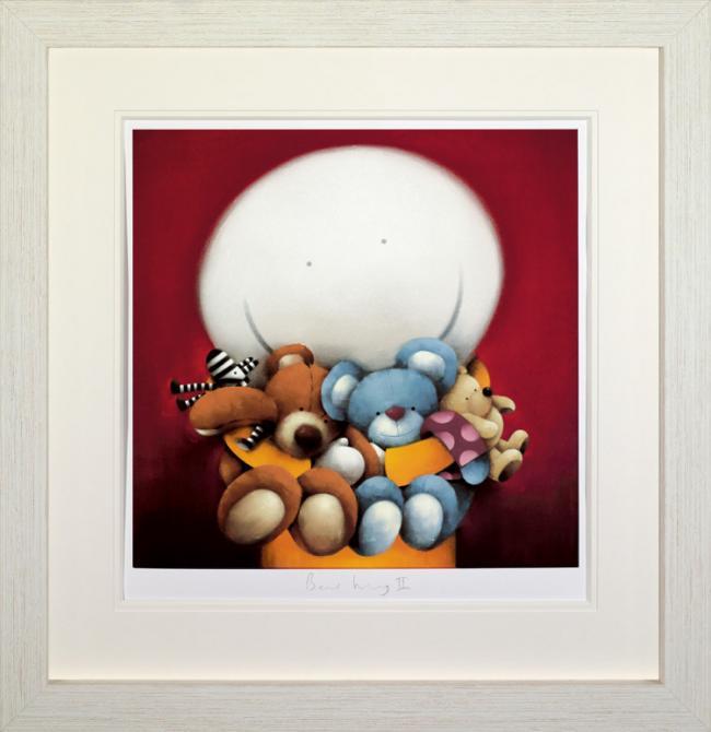 Bear Hug II - Framed by Doug Hyde