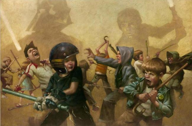 5 Vaders! Right We're Having 5 Lukes by Craig Davison
