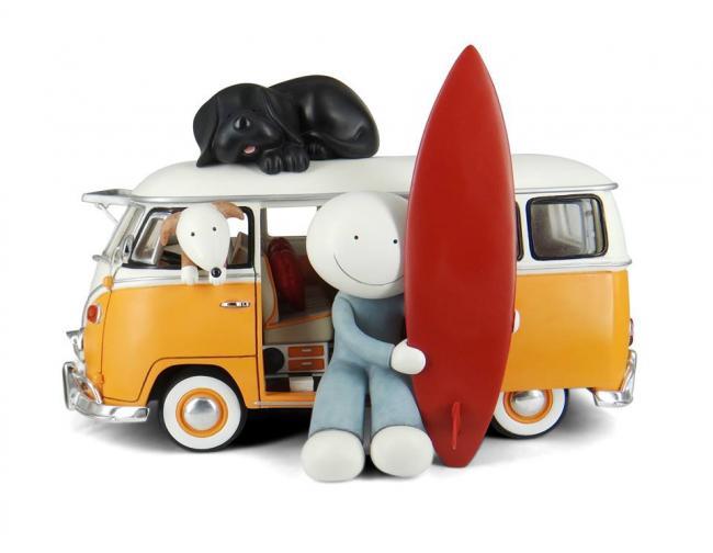 Beach Bum - Sculpture  by Doug Hyde