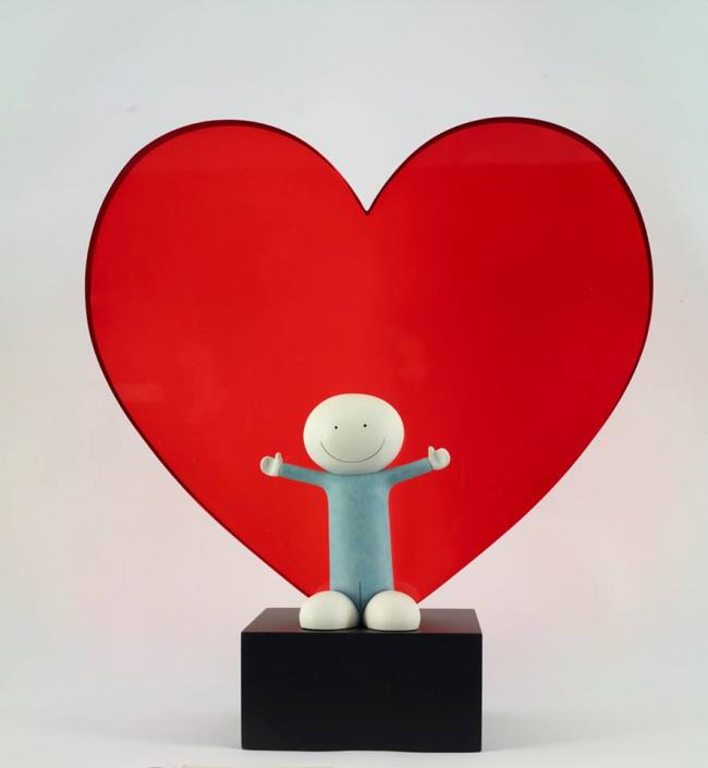 Lots Of Love Sculpture  by Doug Hyde