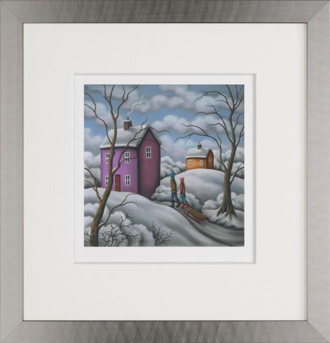 Snowbound - Framed by Paul Horton