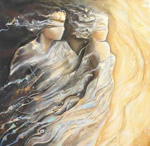 Golden Shadows III by Charlotte Atkinson