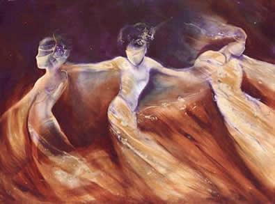 Arabian Nights II by Charlotte Atkinson