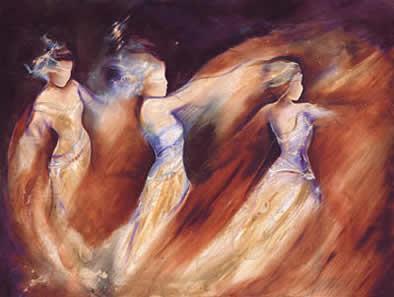 Arabian Nights I by Charlotte Atkinson
