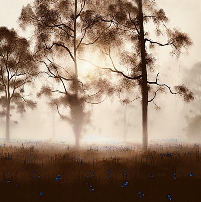 Bluebell Wood by John Waterhouse