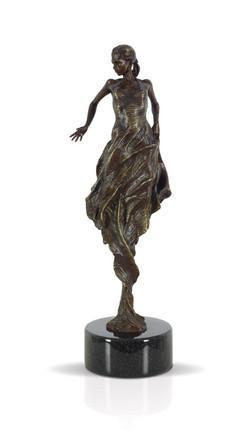 Flamenco Dancer (Bronze) by Carl Payne