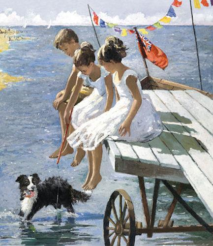 On The Jetty by Sherree Valentine Daines