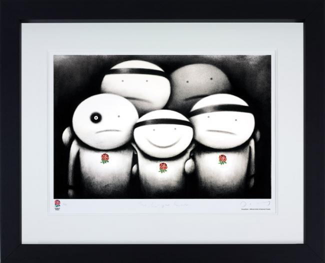 The Engine Room - Black Framed by Doug Hyde