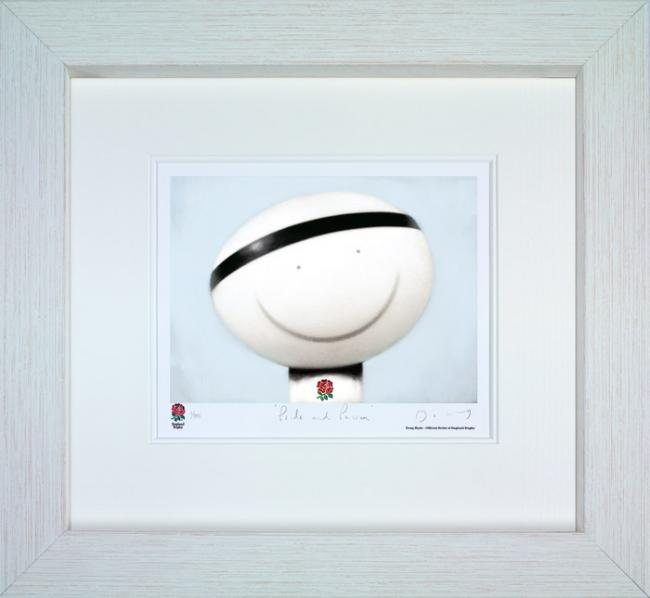 Pride And Passion - White Framed by Doug Hyde