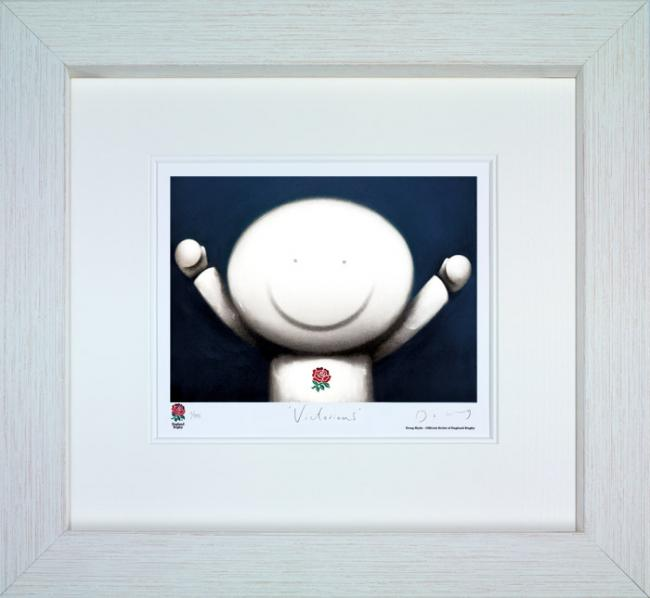 Victorious - White Framed by Doug Hyde