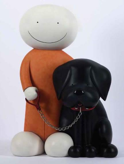 Beware Of The Dog II - Large Sculpture  by Doug Hyde