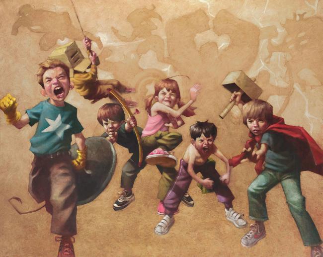 Avengers Resembled by Craig Davison