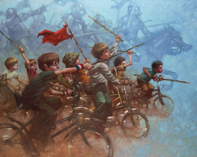 Swords Of A Thousand Men - Canvas - With slip by Craig Davison