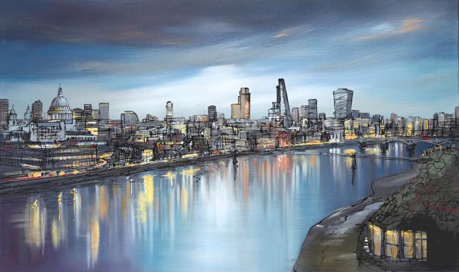 Still Thames by Paul Kenton