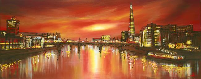 Towering Shard by Paul Kenton