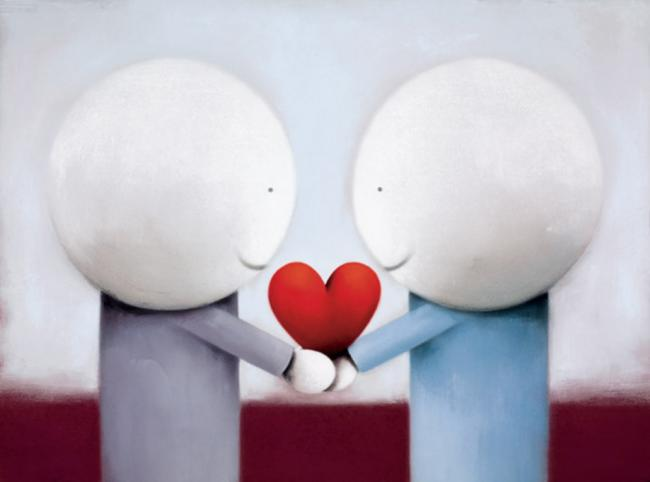 Sharing Love - Picture - Mounted by Doug Hyde