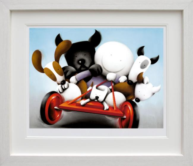 Hold On Tight - Framed by Doug Hyde