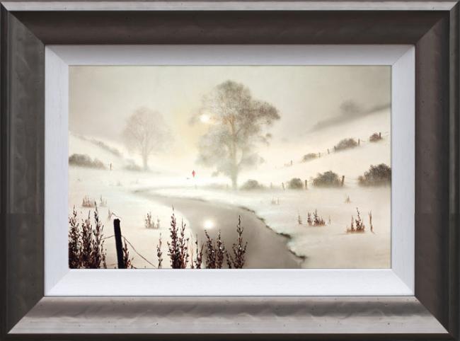 The First Snowfall - Framed by John Waterhouse