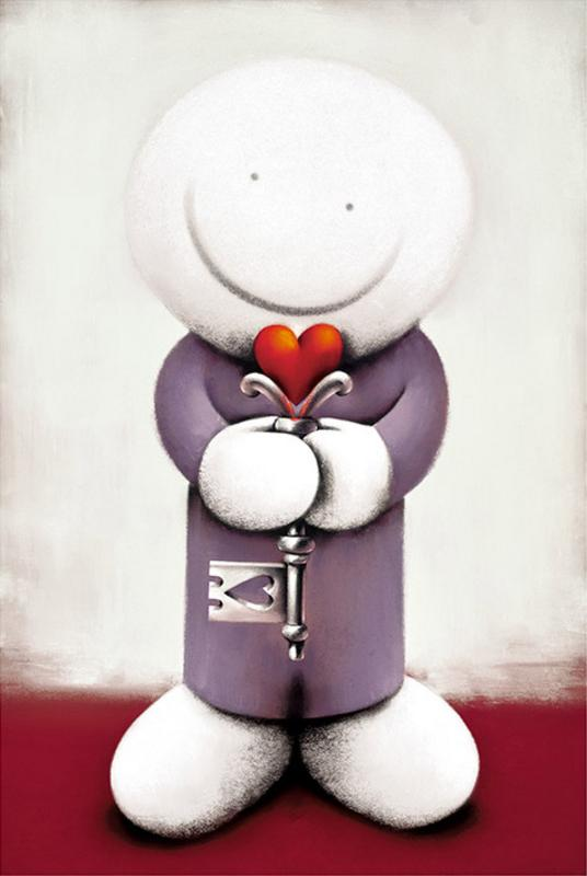 Key to My Heart - Mounted by Doug Hyde