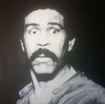 Richard Pryor by Chris Oxenbury