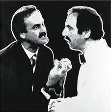 Que? (Fawlty Towers) by Chris Oxenbury
