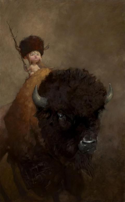 Timberlyne - Mounted by Craig Davison