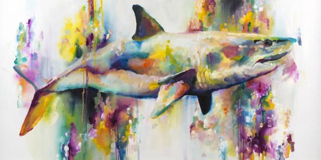 Carnivorous (Shark) by Katy Jade Dobson