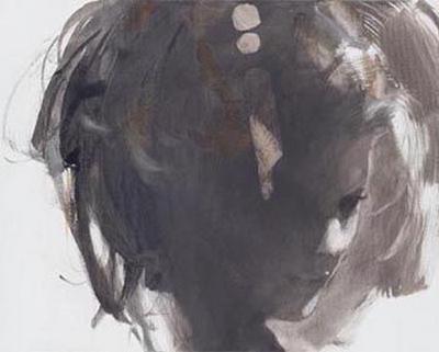 Portrait in Sepia by Christine Comyn