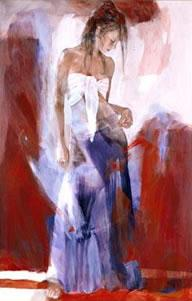 Affection (canvas) by Christine Comyn