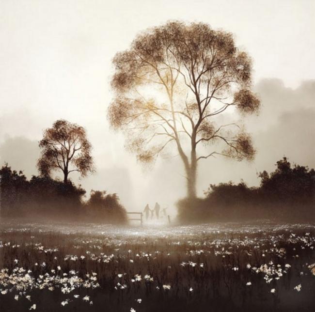 Field Of Play by John Waterhouse