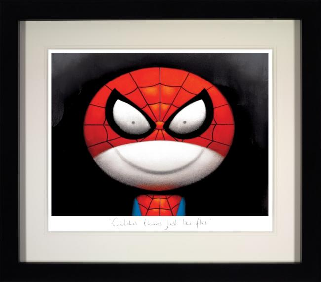 Catches Thieves Just Like Flies - Black Framed by Doug Hyde