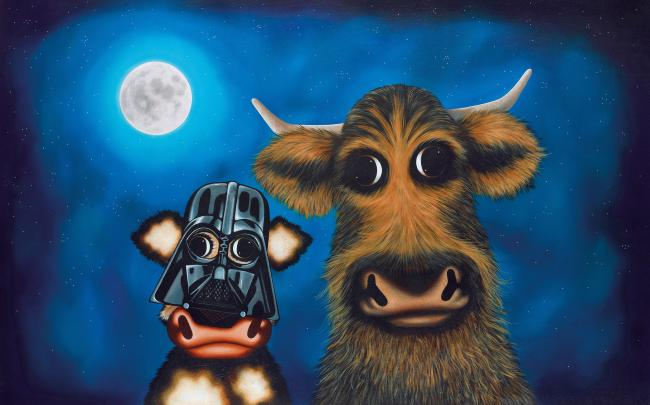 Calf Vader And Chewie The Cud